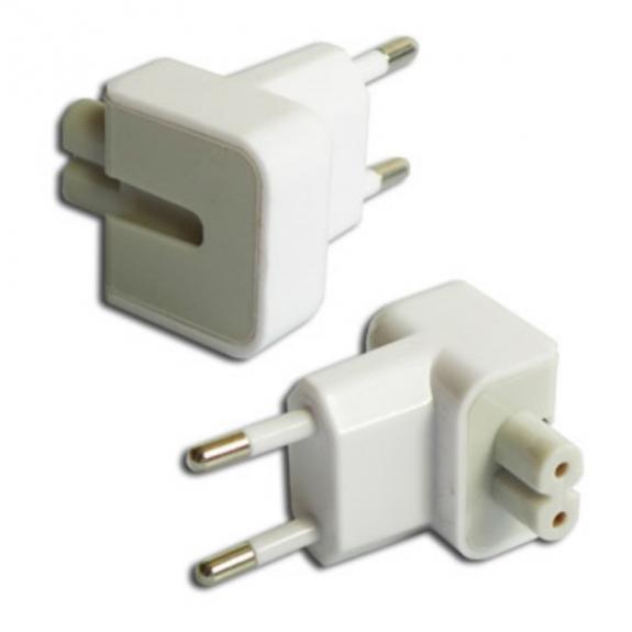 AppleKing eU koncovka / zástrčka k napájecím adaptérům pro Apple zařízení (AC Plug Adapter EU) - bíl