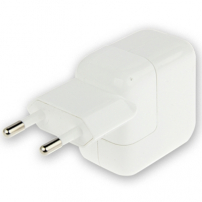 Nabíječka / adaptér 12W s EU zástrčkou (A1401) pro Apple iPhone / iPad / iPod - bílá – TOP kvalita
