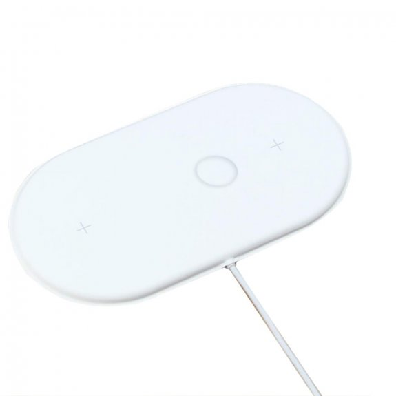 AppleKing airpower 3v1 podložka pro bezdrátové nabíjení pro iPhone / Apple Watch / AirPods - možnost vrátit zboží ZDARMA do 30ti dní