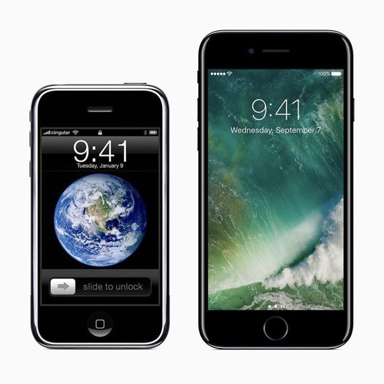 TECH ZONE: Jak šel čas odprvního iPhonu doiPhone7 (2.díl)