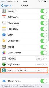 Jak zálohovat iPhone