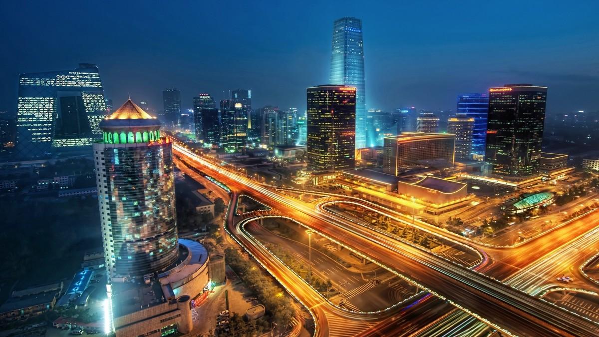 Tapety pro iPhone: Čínské metropole