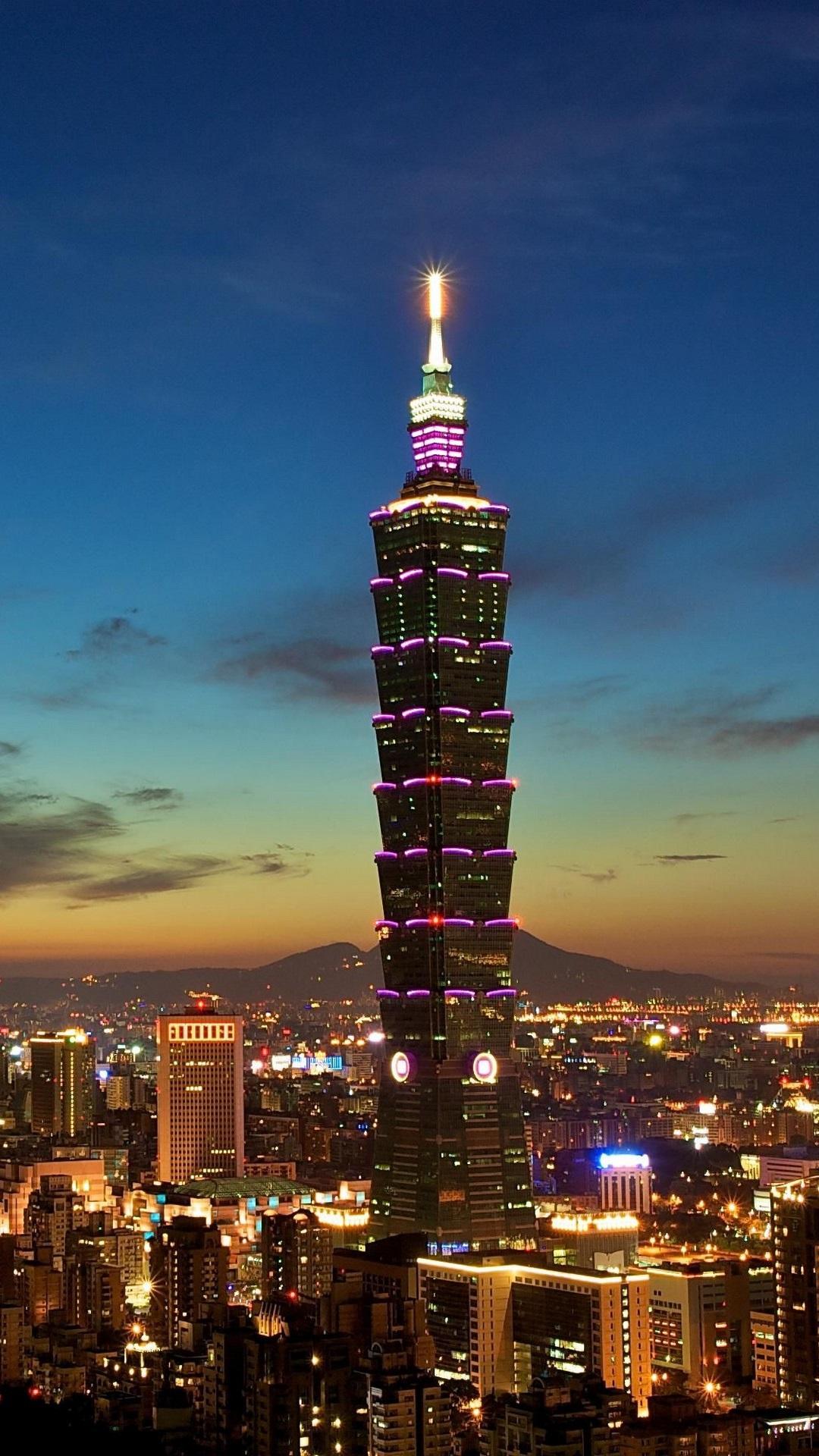 Tapeta pro iPhone - Tchajwan - Tchajpej