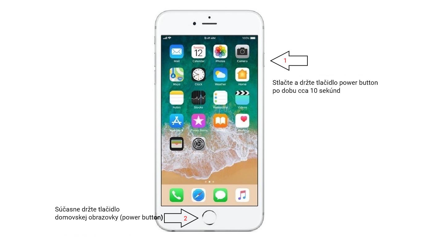 Ako reštartovať iPhone 6