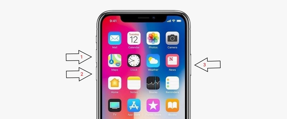 iPhone X - ujrainditas
