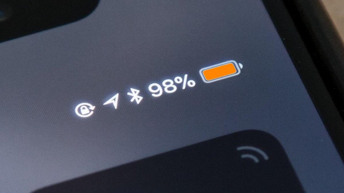 Jak změnit barvu ukazatele baterie iPhonu