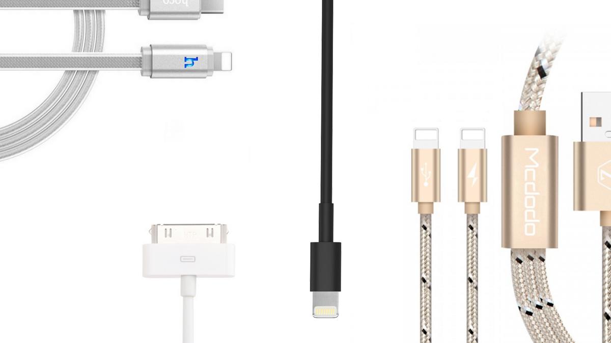 iPhone - Lightning kabely