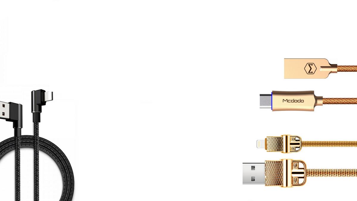 iPhone - luxusní kabely