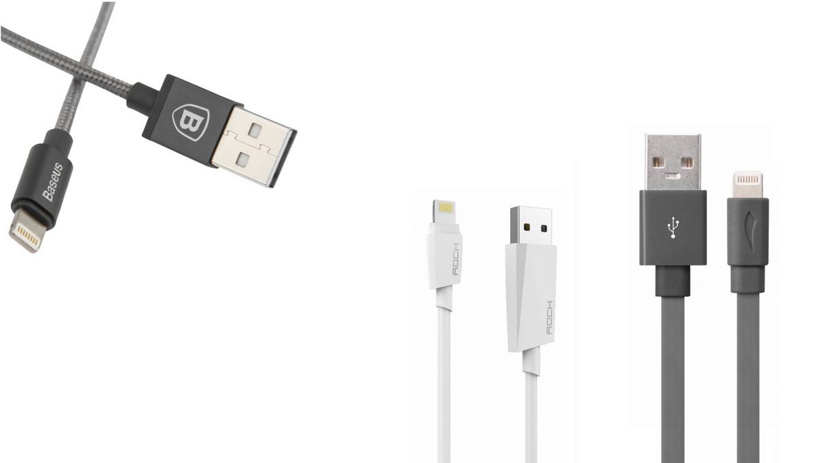 iPhone - MFi Lightning kabely - certifikované