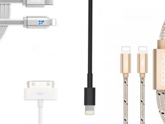 iPhone - nabíjecí kabely