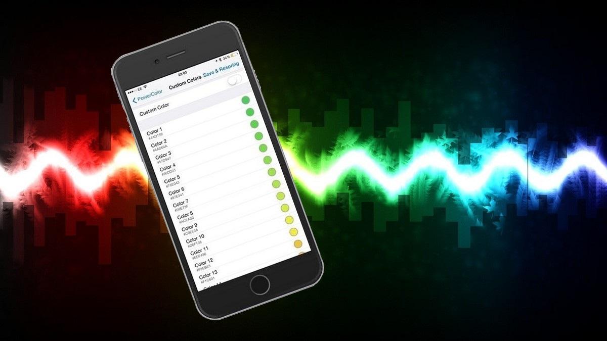 iPhone színváltozás akkumulátor jelző