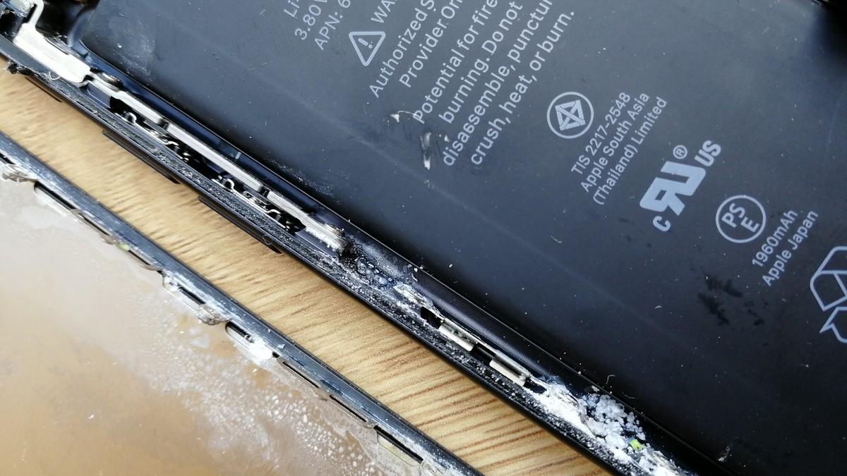 iPhone 7 - înecat