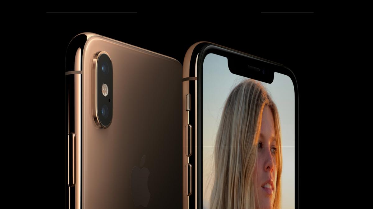 iPhone XS - fotoaparát