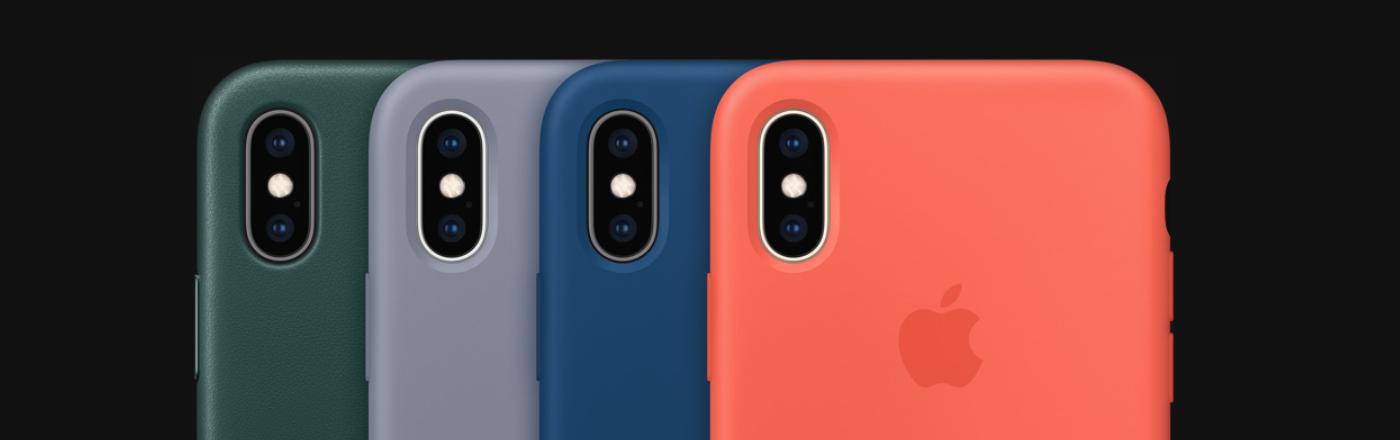 iPhone XS - příslušenství