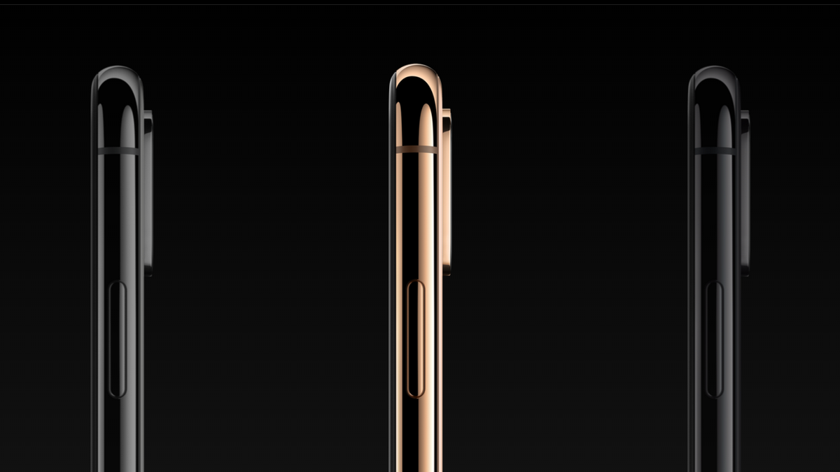 iPhone XS - strana