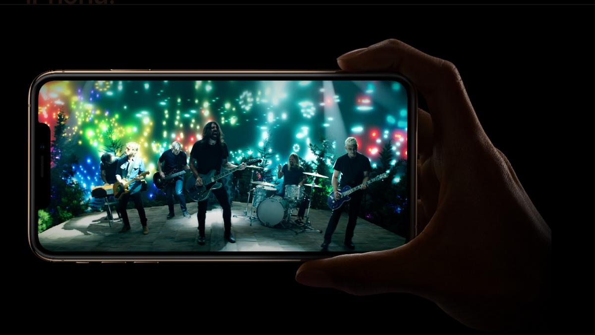 iPhone XS - video