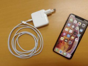 iPhone - rychlonabíjení