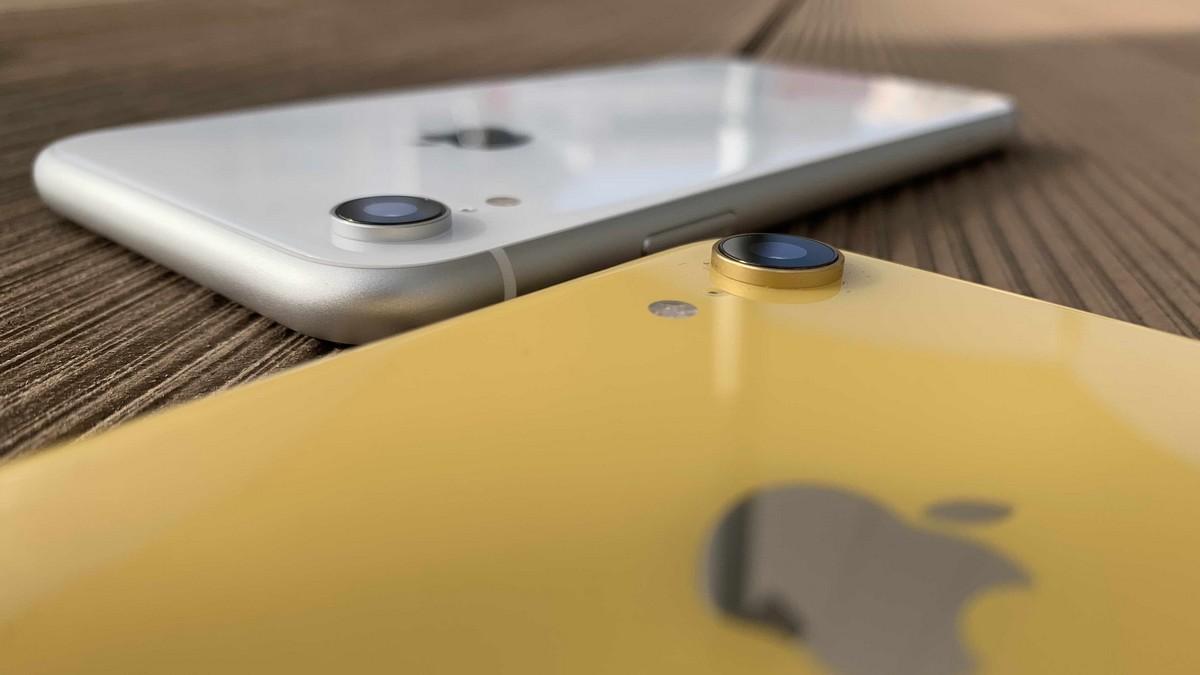 iPhone XR - fotoaparát