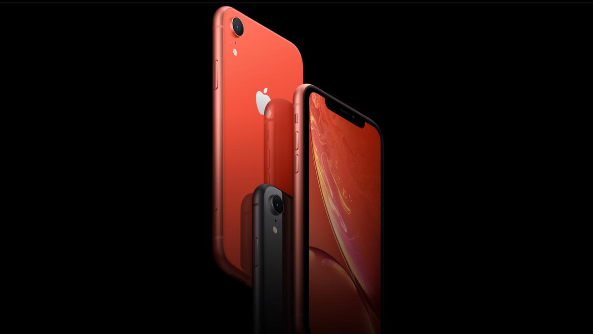iPhone XR - design