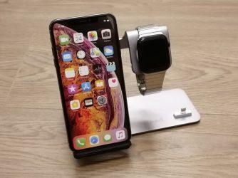 Hliníkový stojánek pro nabíjení iPhone, Watch aAirPods