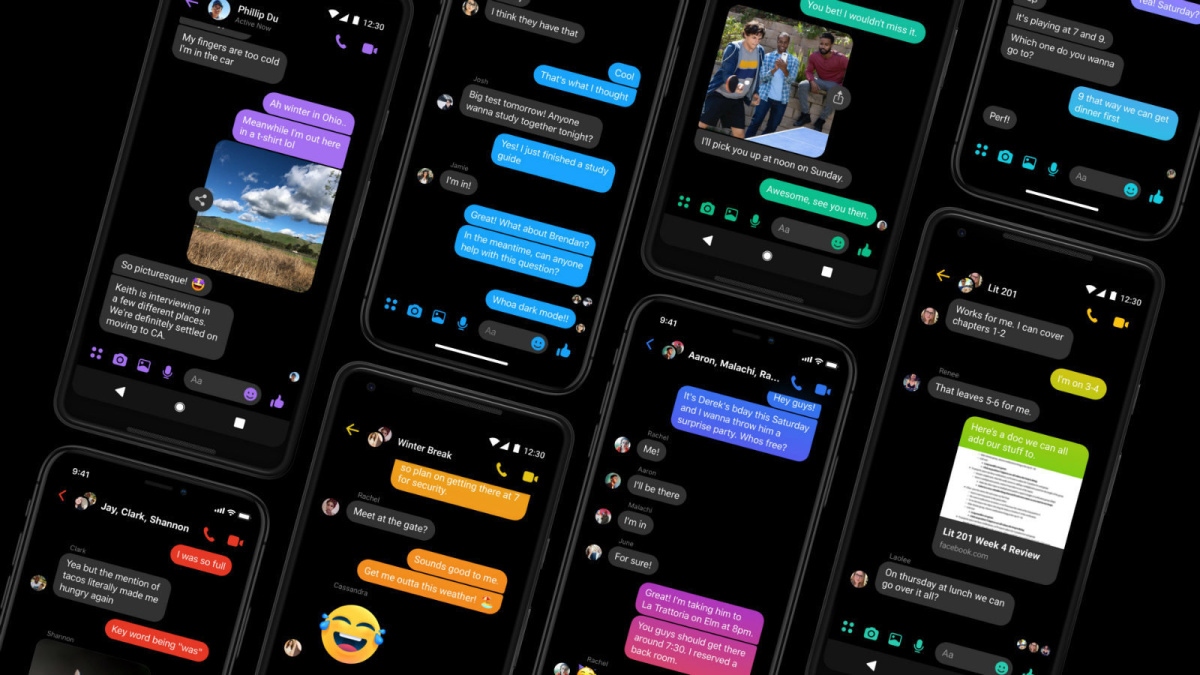 Messenger - jak aktivovat temný režim