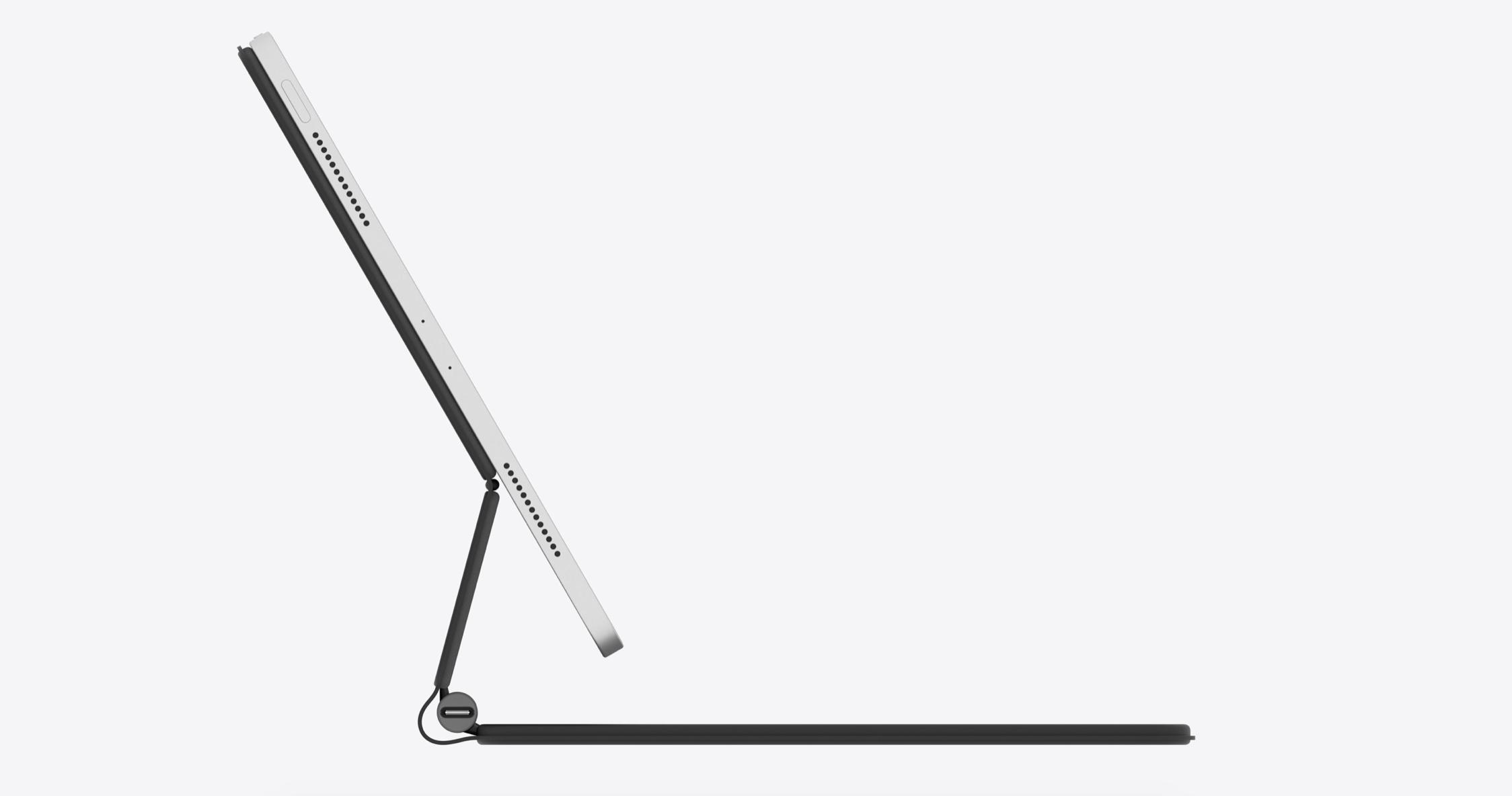 Tiše představený iPad Pro 2020 anová Magic Keyboard