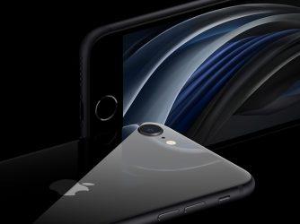 Nový iPhone SE 2 náhledová fotografie
