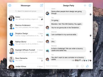 Nový Messenger pro Mac si můžete stáhnout vApp Store