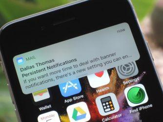 Jak zapnout upozornění vaplikaci Mail naiPhonu
