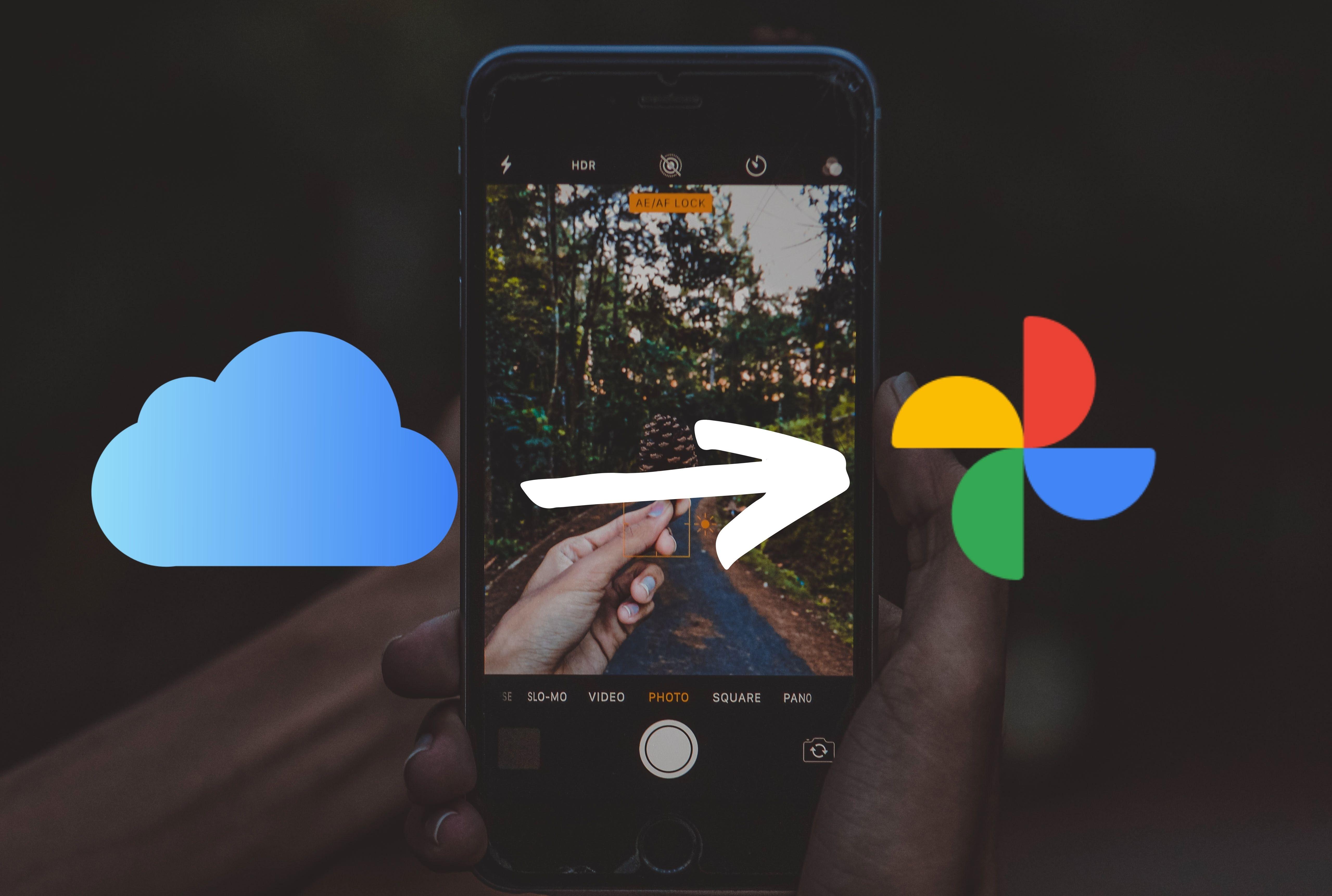 Jak přesunout fotky zFotek naiCloudu doFotek Google