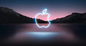 Grafika k Apple Event 2021 ze stránek společnosti Apple