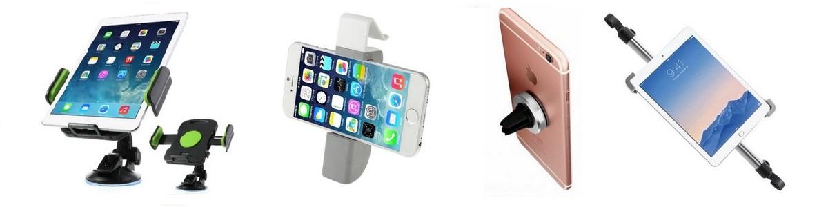 Držáky a stojany do auta na iPhone a iPad
