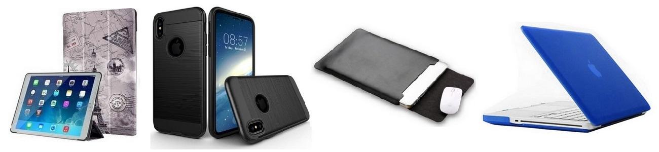 Kryty, pouzdra a obaly na iPhobe, iPad, Mac, Apple Watch