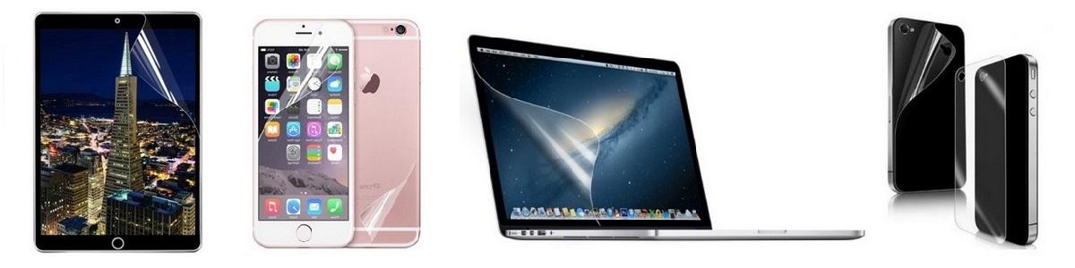 Ochranná fólie pro iPhone, iPad, Mac, Apple Watch
