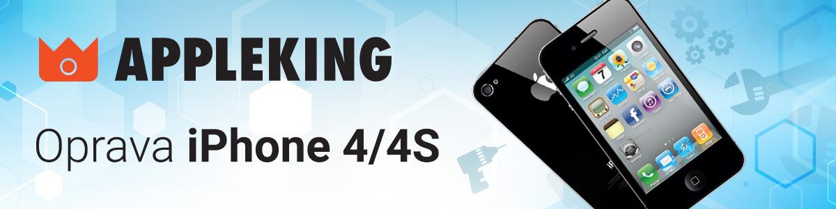 Servis a oprava iPhone 4 / 4S