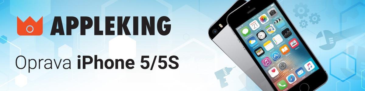 Servis a oprava iPhone 5 / 5S