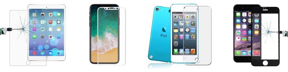 Tvrzené sklo pro iPhone, iPad, AppleWatch
